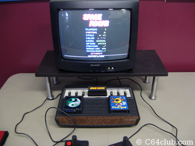 Space Rocks Atari 2600 Homebrew Game - Northwest Retro Computing and Video Game Club