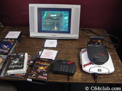 Paul's Atari Jaguar CD Console - Northwest Retro Computing and Video Game Club