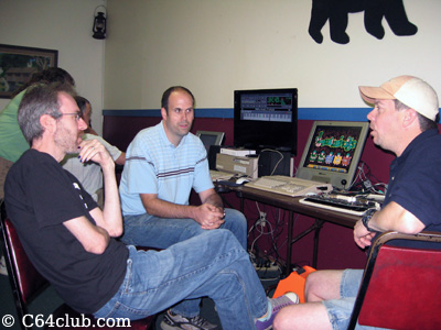 Kevin Savetz, Dan and Paul Atari 600XL 800 XL - Northwest Retro Computing and Video Game Club